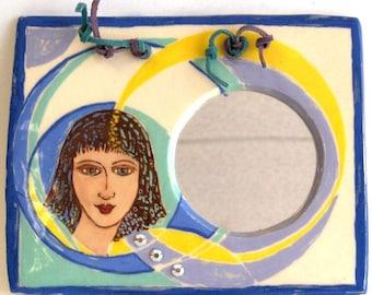 Decorative Mirror - Art Deco Girl