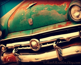 Vintage Truck - Rustic Wall Art - Classic Car Art Prints - Retro Print - Vintage Car Photography - Garage Art - 8x10