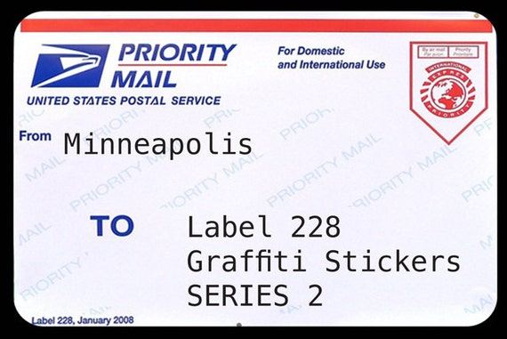 228 labels 2 by joe cunningham minneapolis postal label