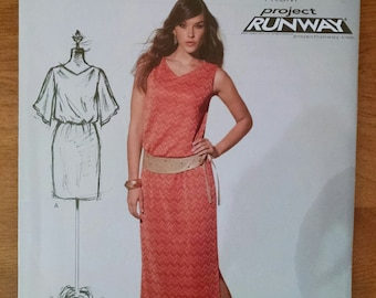 Uncut NewLook Dress Pattern 6181, Workroom, Project Runway