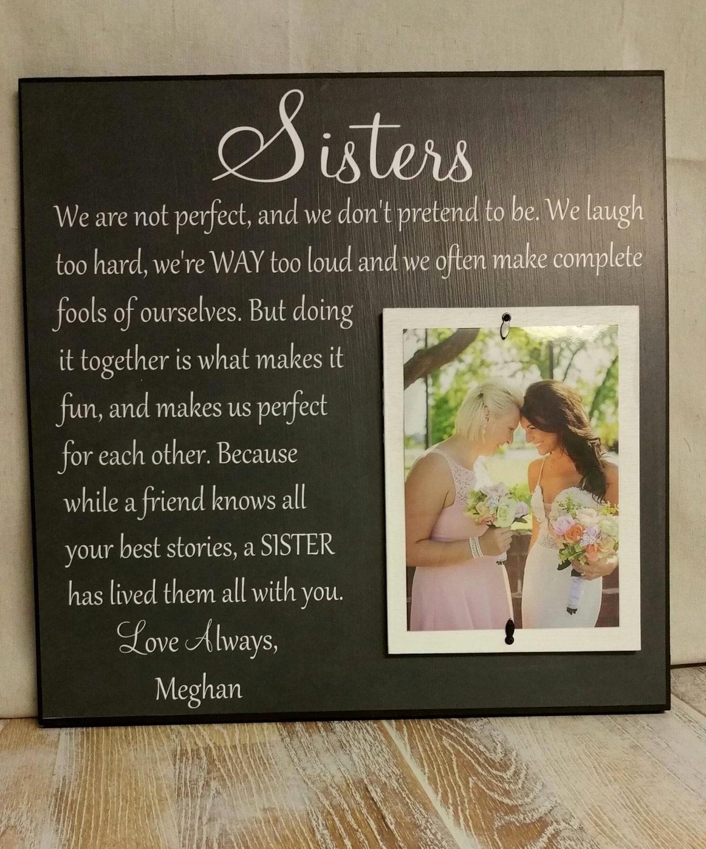 Wedding Gift Thank Yous: Wedding Gift Sister Wedding Gift Wedding Thank You Gift For