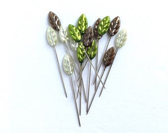 Leaf Trinket Pins - Maya Road