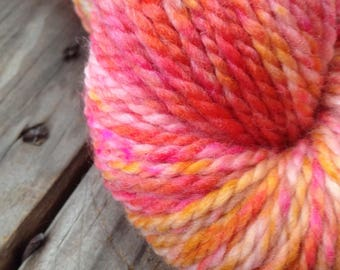 ImPeach speckle on Freya BFL Aran Wt