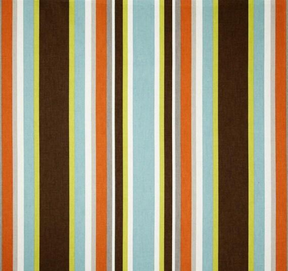 Stripe Custom Cafe Curtains Covington Cameron Fiesta Curtains