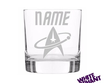 Personalised Star Trek Tumbler/High-Ball/Pint Glass