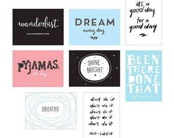 Poster Lightbox Sheets - Fun