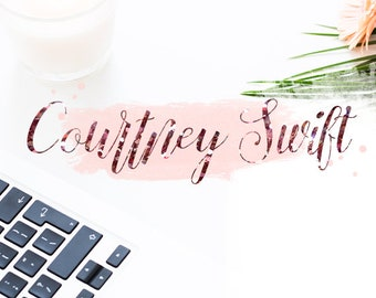 "Premade logo ""Courtney Swift"""