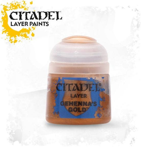 Citadel layer collection acrylic paint for polymer clay, miniature & steampunk straight over citadel base paints without any mixing.