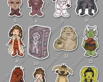 Star Wars Stickers (Group 2)