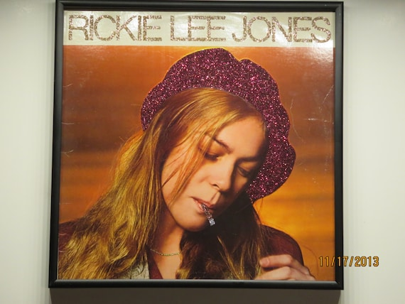 Glittered Record Album - Rickie Lee Jones