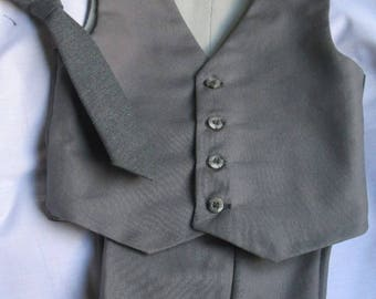 Suit Vest, Pants, Necktie plus free bowtie - Baby, Toddler, Holiday