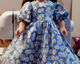 18 inch doll dress. Fits American Girl and My Life dolls.