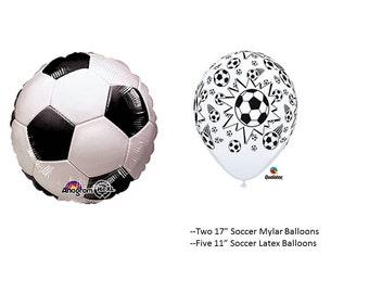 Soccer Balloon Set