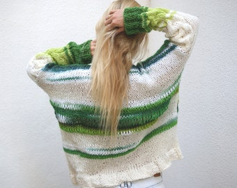 Oversized Cable Sweater.