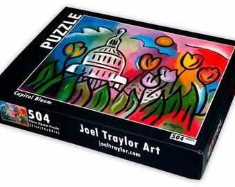 "Capitol Bloom ~ 504 piece puzzle ~ 16""x20"""