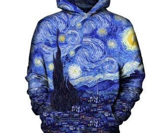 Starry Night Hoodie | Rave, EDM, Festival Hoodie