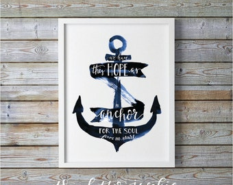 Anchor for the Soul Art Print