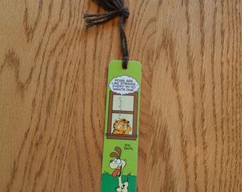 1978 Garfield and Odie Bookmark-Jim Davis