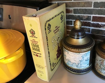 Cook Book Vintage Cookbook The Complete Family Cook Book Vintage Kitchen Recipe Cookbook Gift For Cook Vintage Books Vintage Recipe Book Old