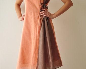Shape ...Orange Brown Dress