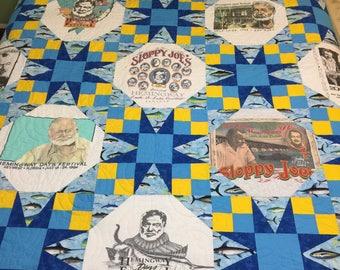 T Shirt Quilt Pattern