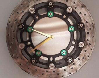 sprockclock disc brake clock