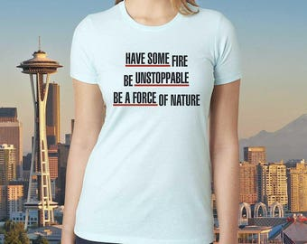 Grey's Anatomy Inspired - Shirt - Cristina Yang - Seattle - Ladies