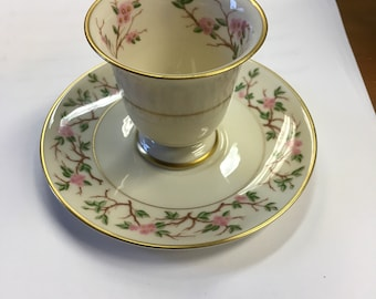 Franciscan China woodside demitasse cup and saucer