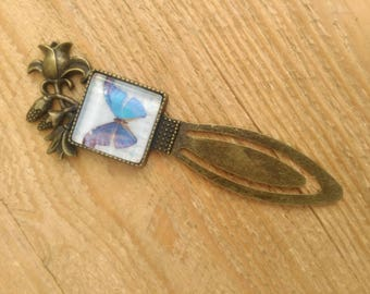 Bookmarks, brand-pages square bookmark Butterfly Bookmark, stationery, reading accessory, Love of reading, Original accessory