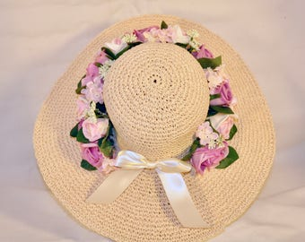 Kentucky Derby Easter Bonnet Royal Ascot Tea Party Woman's Hat