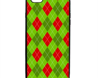 Christmas Argyle Holiday Print Pattern Phone Case Samsung Galaxy S5 S6 S7 S8 S9 Note Edge iPhone 4 4S 5 5S 5C 6 6S 7 7S 8 8S X SE Plus