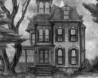 Grandmas house print