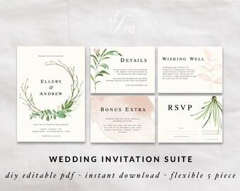 invitation templates wedding