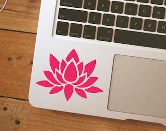 Lotus Flower iPhone Car Laptop Vinyl Decal Sticker