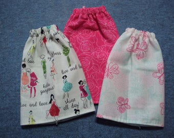 "Fun Themed Skirt for Barbie Dolls ~ Clothes for 11 1/2"" Fashion Dolls"