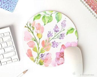 cute mouse pad | round mousepad | mouse pad vintage