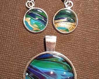 pendant and earring sets