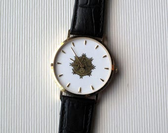Masonic Past Masters Wrist Watch