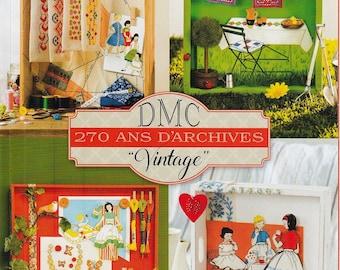 "DMC 270 years archive ""VINTAGE"""