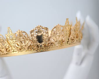 SYBIL: Gold Filigree Coronet/Crown