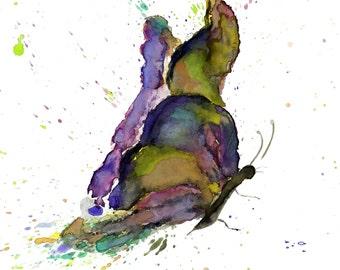 Butterfly Art, Watercolor Butterfly Print, Butterflies Art, Butterfly Painting, Butterfly Wall Art, Butterfly Decor, Giclee Butterfly Print