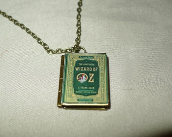 Book Locket: Wizard of Oz, Brave, Where the Wild Things Are