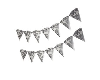 Silver Bunting (Elegance Design)