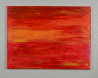 """12x16"""" acrylic abstract painting"""