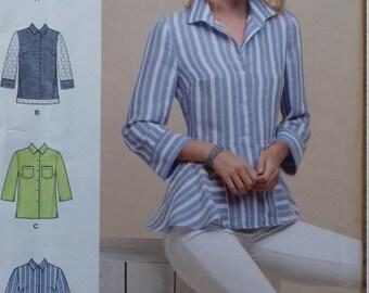 UNCUT Simplicity 8297 Misses Shirt