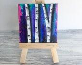 Birch Trees - Original Mi...