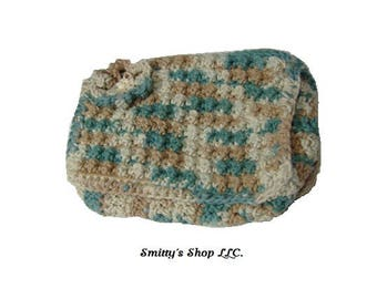 Cosmetic bag/Clutch handmade
