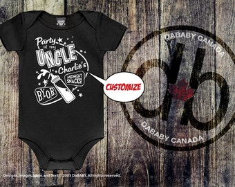 Personalized Uncle Bodysuit - Custom Uncle Gift - Funny Baby Bodysuit - Uncle's 50s Style Bodysuit - Custom Uncle Bodysuit - Uncle T-shirt