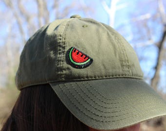 watermelon patch hat