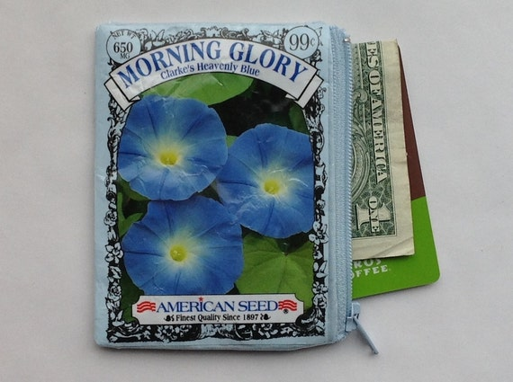 Grandmother Gift Idea Seed Packet Coin Purse Card Holder